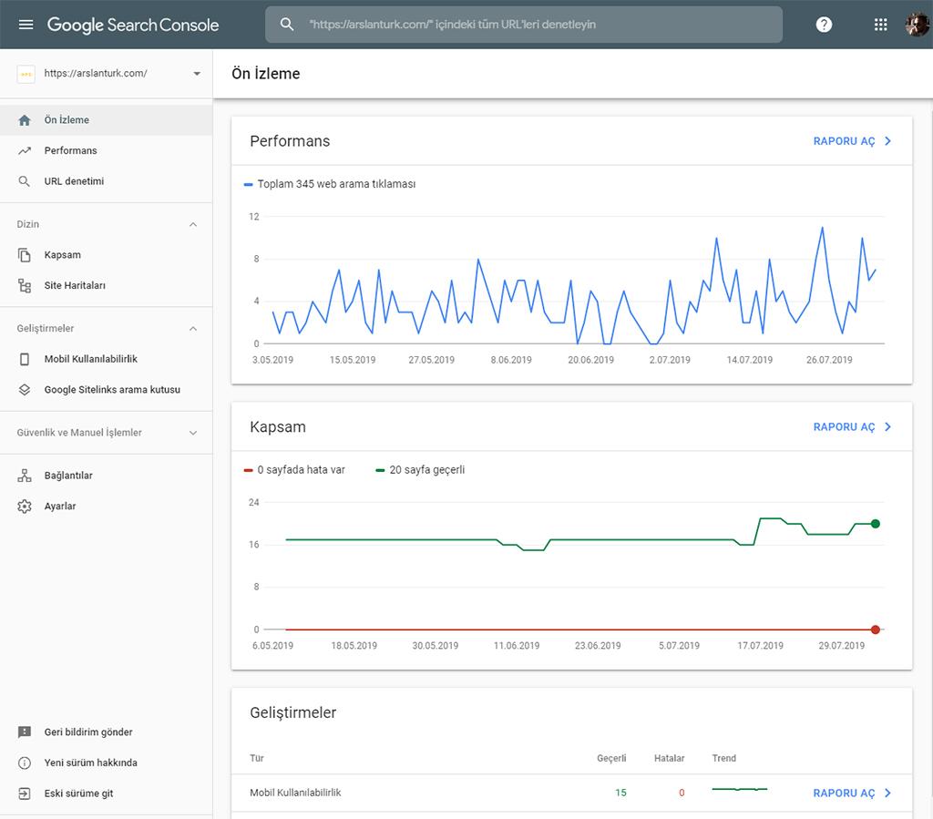 Google Search Console Nasıl Kullanılır?